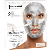 StarSkin - Cloth mask - Pro - Platinum Peel  Cadeauset Glow Mask