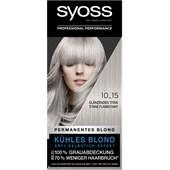 Syoss - Coloration - 10_15 Glänzendes Titan Stufe 3 Permanent blonde