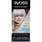 Syoss - Coloration - 10_55 Platinum Blond Stufe 3 Coloration