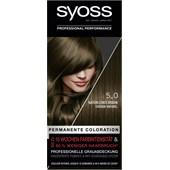 Syoss - Coloration - 5_0 Natürliches Braun Stufe 3 Permanente Coloration