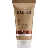System Professional Lipid Code - Luxe Oil - Keratin Restore Mask L3