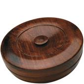 Taylor of old Bond Street - Sandeltræ-serie - Sandalwood Herbal Shaving Hard-Soap in Wooden Bowl