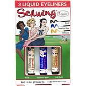 The Balm - Eyeliner & Mascara - Schwing Trio Set