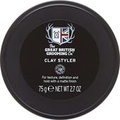 The Great British Grooming Co. - Cuidados com o cabelo - Clay Styler