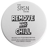 The SIGN Tribe - Nagelpflege - Remove and Chill Reusable Nail Polish Remover Pads