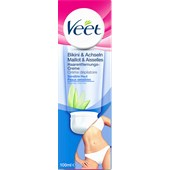 Veet - Cremes - Enthaarungscreme Bikini & Achseln Sensitive Haut