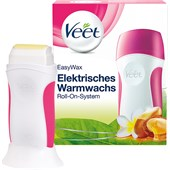 Veet - Warm- & Kaltwachs - Essential Inspirations Easy Wax elektrisches Roll-On-System