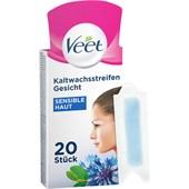 Veet - Warm- & Kaltwachs - Gesicht Präzisionskaltwachsstreifen Sensible Haut