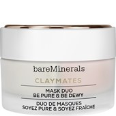 bareMinerals - Feuchtigkeitspflege - Claymates Mask Duo Be Pure & Be Dewy