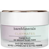 bareMinerals - Special care - Claymates Mask Duo Be Bright & Be Firm