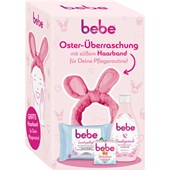 bebe - Gesichtspflege - 1x Soft Shower Cream + 1 x Feuchtigkeitspflege 50ml + 1 x 5in 1 Reinigungstücher Geschenkset