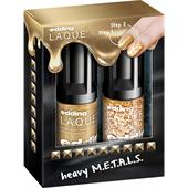 edding - Ongles - Full Metal G.O.L.D Heavy M.E.T.A.L.S Set