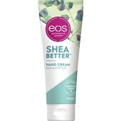 eos - Ruce - Sheabetter Hand Cream Eucalyptus