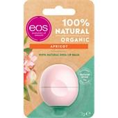 eos - Lippen - Apricot 100% Natural Shea Lip Balm