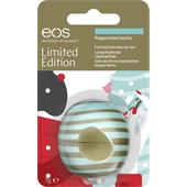 eos - Huulet - Peppermint Mocha Visibly Soft Lip Balm