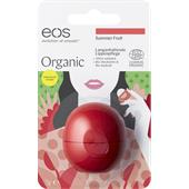 eos - Huulet - Summer Fruit Organic Lip Balm
