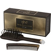 ghd - Hair brushes - Travel Brush + Comb Gift Set