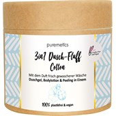 puremetics - Peeling & Masken - 3in1 Dusch-Fluff Cotton