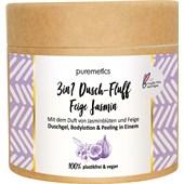 puremetics - Peeling & Masken - Salzpeeling Feige Jasmin No15 3in1 Dusch-Fluff