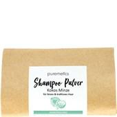 puremetics - Shampoo - Shampoo-Pulver Kokos Minze