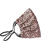 slip - Face Coverings - Pure Silk Face Cover Rose Leopard