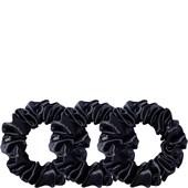 slip - Hair Care - Pure Silk Large Hair Scrunchies Black