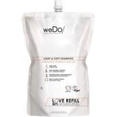 weDo/ Professional - Sulphate Free Shampoo - Light & Soft Shampoo Refill