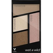 wet n wild - Lidschatten - Eyeshadow Quads