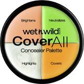 wet n wild - Bronzer & Highlighter - Coverall Concealer Palette