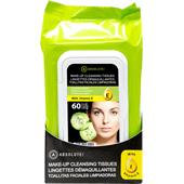 Absolute New York - Ansiktsvård - Make-up Cleansing Tissues Cucumber