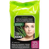 Absolute New York - Gezichtsverzorging - Make-up Cleansing Tissues Fresh Aloe