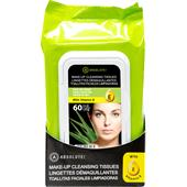 Absolute New York - Gesichtspflege - Make-up Cleansing Tissues Fresh Aloe
