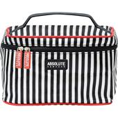 Absolute New York - Kosmetiktaschen - Mono Stripe Satin