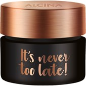 Alcina - Efecto y cuidado - It's Never Too Late! It's Never Too Late!