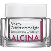 Alcina - Sensitive skin. - Sensitive face cream light