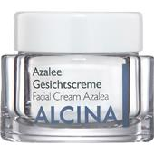 Alcina - Peau sèche - Crème pour visage à l'azalée