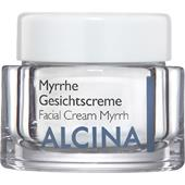 Alcina - Peau sèche - Crème pour visage à la myrrhe