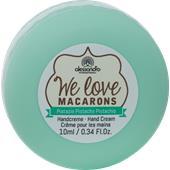 Alessandro - Hand & Nagelpflege - We love Macarons Handcreme Pistazie