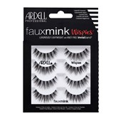 Ardell - Eyelashes - Faux Mink Wispies - Multipack