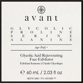 Avant - Age Defy+ - Glycolic Acid Rejuvenating Face Exfoliator