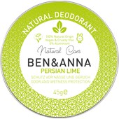 BEN&ANNA - Deodorant cream - Natural Deodorant Creme Persian Lime
