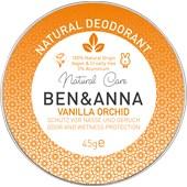 BEN&ANNA - Deocreme - Natural Deodorant Creme Vanilla Orchid