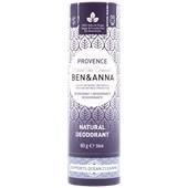BEN&ANNA - Deodorant PaperStick - Natural Deodorant Stick Provence