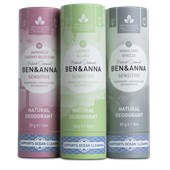 BEN&ANNA - Deodorant PaperStick - Natural Deodorant Stick Sensitive Lemon & Lime