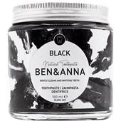 BEN&ANNA - Toothpaste in a glass - Toothpaste Black