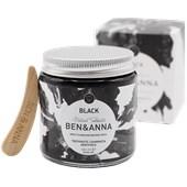 BEN&ANNA - Toothpaste in a glass - Zahnpasta Black