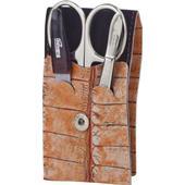Becker Manicure - Estuches de manicura - Estuche de cuero, 3 piezas
