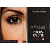 Bellápierre Cosmetics - Eyes - Brow Palette