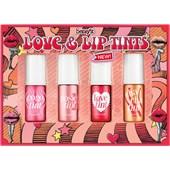 Benefit - Rouge -  Lippen- und Wangenfarben Set Love & Lip Tints