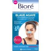 Bioré - Gesichtspflege - Blaue Agave Tiefenreinigende Clear-Up Strips